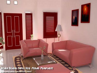 Interior Ruang Tamu Kecil