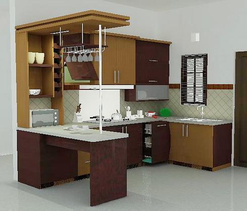 Gambar Desain Rumah Murah on Berikut Adalah Contoh Dari Desain Dapur Minimalis Yang Bisa Anda